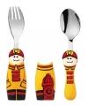 Peuterbestek set brandweerman popjes