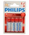 Philips 4 stuks aa batterijen