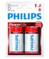Philips r20 d batterijen 2 stuks