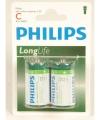 Phillips ll batterijen r14 1 5 volt 2 stuks