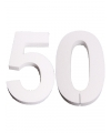 Piepschuim 50 cijfer 25 cm