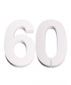 Piepschuim 60 cijfer 25 cm