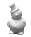 Piepschuim sneeuwman 17 cm