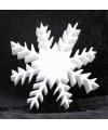 Piepschuim vorm ijskristal deluxe 20 cm