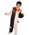 Pierrot clownspak voor kinderen