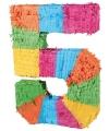 Pinata gekleurde cijfer 5