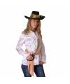 Piraten blouse wit voor dames