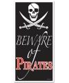 Piraten deurposter 75 x 150 cm