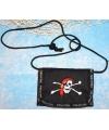 Piraten portemonnee aan koord