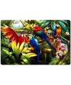 Placemat ara papegaaien 3d 30 x 40 cm