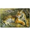 Placemat tijger 3d 40 cm