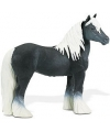 Plastic hengst paard 11 5 cm