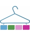 Plastic kinder kledinghangers 8 delig