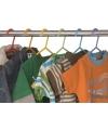 Plastic kinder kledinghangers