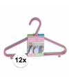 Plastic kledinghangers 12 delig