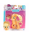 Plastic my little pony poppetje applejack 8 cm