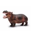 Plastic nijlpaard 24 cm