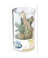Plastic safari dieren 6 5 cm