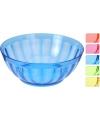 Plastic schaaltje blauw 24 5 cm
