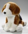 Pluche beagle knuffel 18 cm