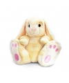 Pluche beige konijn 50 cm