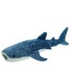Pluche blauwe walvis haai 54 cm