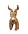 Pluche bruine geiten knuffel 20 cm