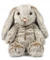 Pluche bruine konijnen knuffel 33 cm