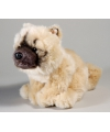 Pluche chow chow hond knuffel 23 cm