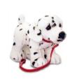 Pluche dalmatier aan lijn