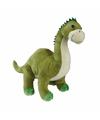 Pluche dinosaurus brontosaurus knuffel 30 cm