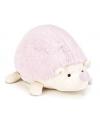 Pluche egel knuffel roze 22 cm