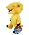 Pluche gele dinosaurus knuffel 23 cm