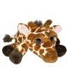 Pluche giraf knuffel 33 cm