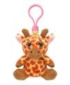 Pluche giraf sleutelhanger 9 cm