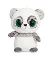 Pluche grijze panda knuffel 20 cm