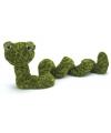 Pluche groene knuffel slang 27 cm