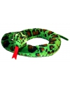 Pluche groene slang 180 cm