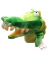 Pluche handpop krokodil gary