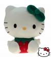 Pluche hello kitty knuffel rood 35 cm