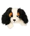 Pluche king charles spaniel hond knuffel 25 cm