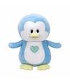 Pluche knuffel blauwe pinguin ty beanie baby twinkles 17 cm