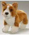 Pluche knuffel corgi hond 21 cm