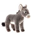 Pluche knuffel ezel 25 cm
