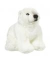 Pluche knuffel ijsbeer 18 cm