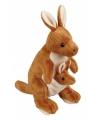 Pluche knuffel kangeroo 28 cm