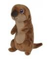 Pluche knuffel otter 17 cm