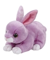 Pluche knuffel paars konijn haas ty beanie dash 33 cm