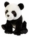 Pluche knuffel panda 30 cm