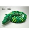 Pluche knuffel slang 180 cm